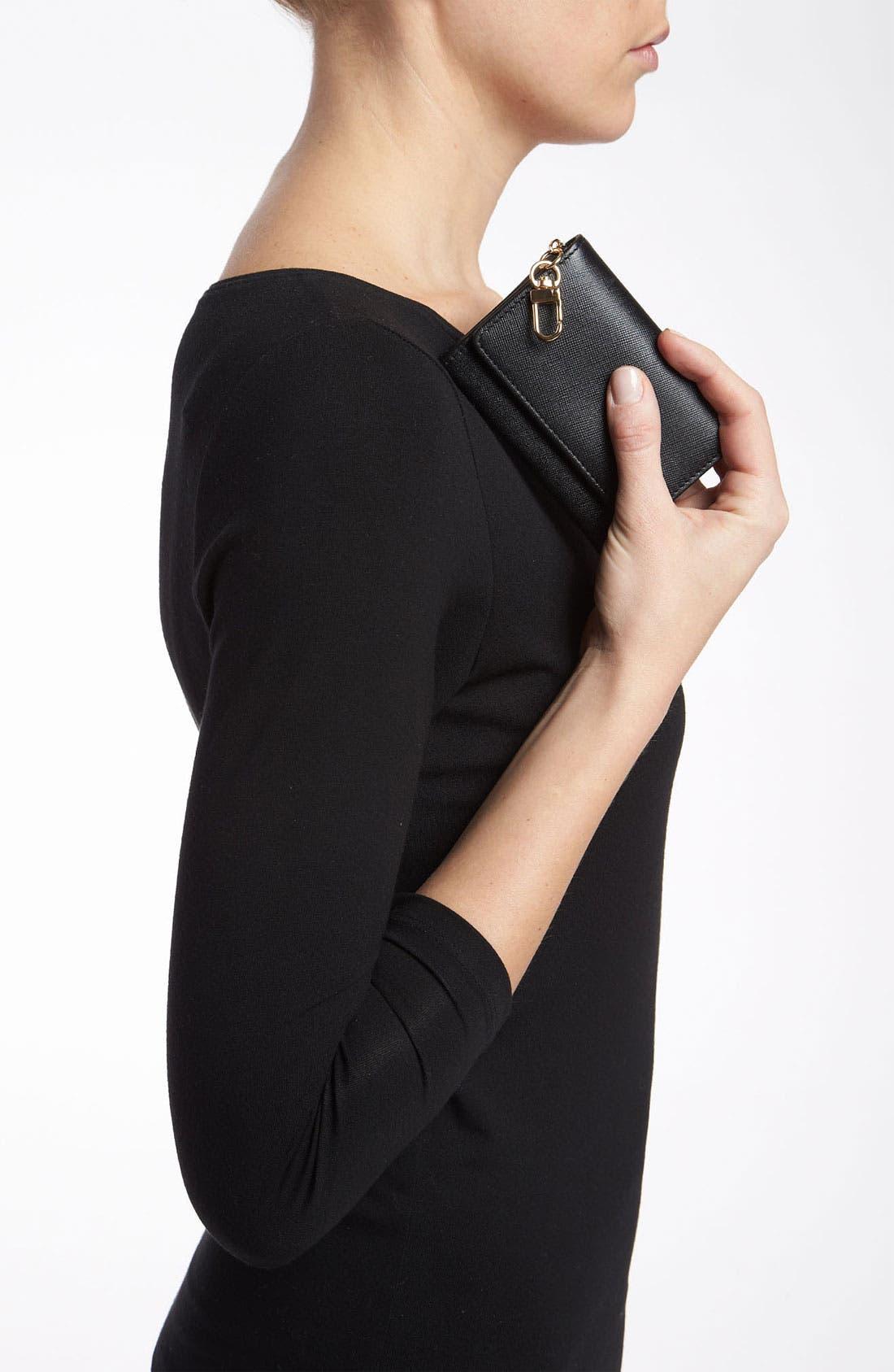 Alternate Image 2  - Halogen® 'Emily' Leather Key Clip Wallet