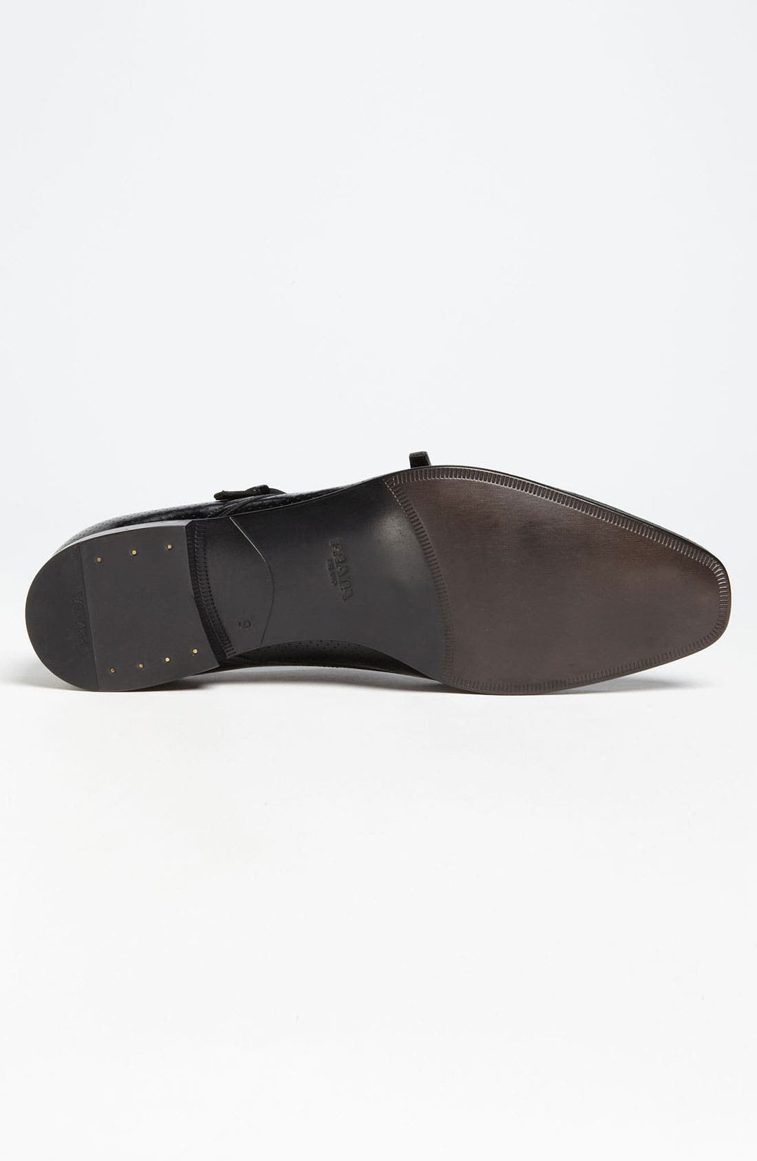 Alternate Image 4  - Prada Perforated Double Monk Strap Slip-On