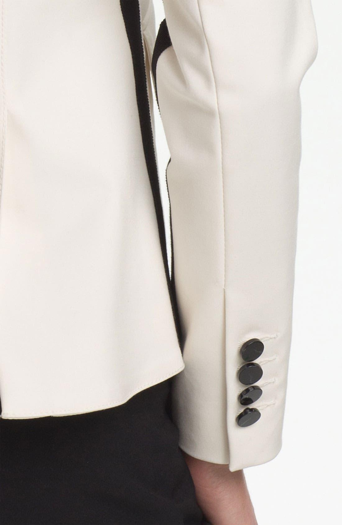Alternate Image 3  - Adrianna Papell One Button Blazer