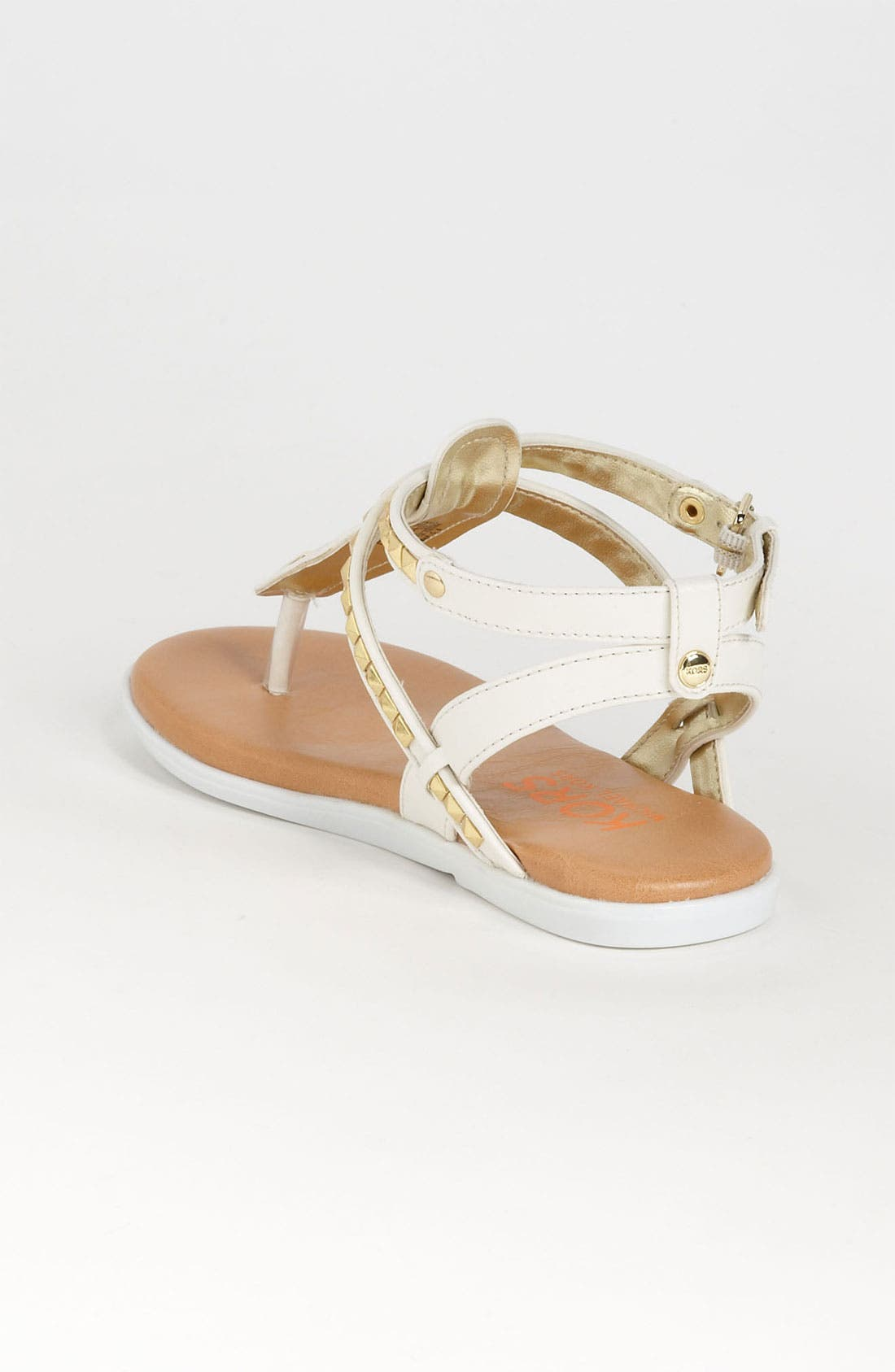 Alternate Image 2  - KORS Michael Kors 'Button' Sandal (Little Kid & Big Kid)