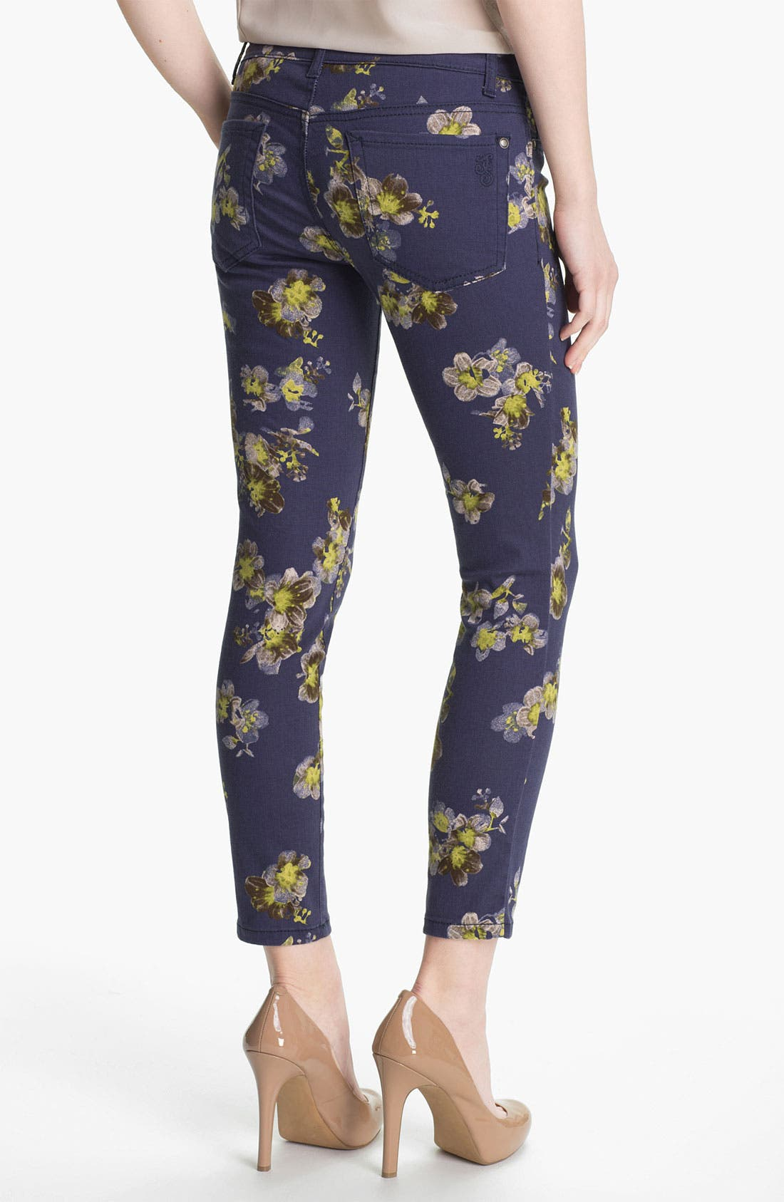Alternate Image 2  - Jessica Simpson Print Ankle Pants (Online Exclusive)