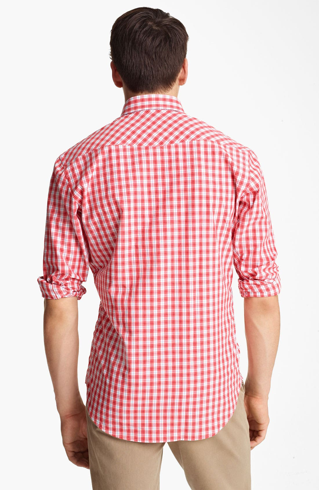Alternate Image 2  - Billy Reid 'Neilan' Check Woven Shirt