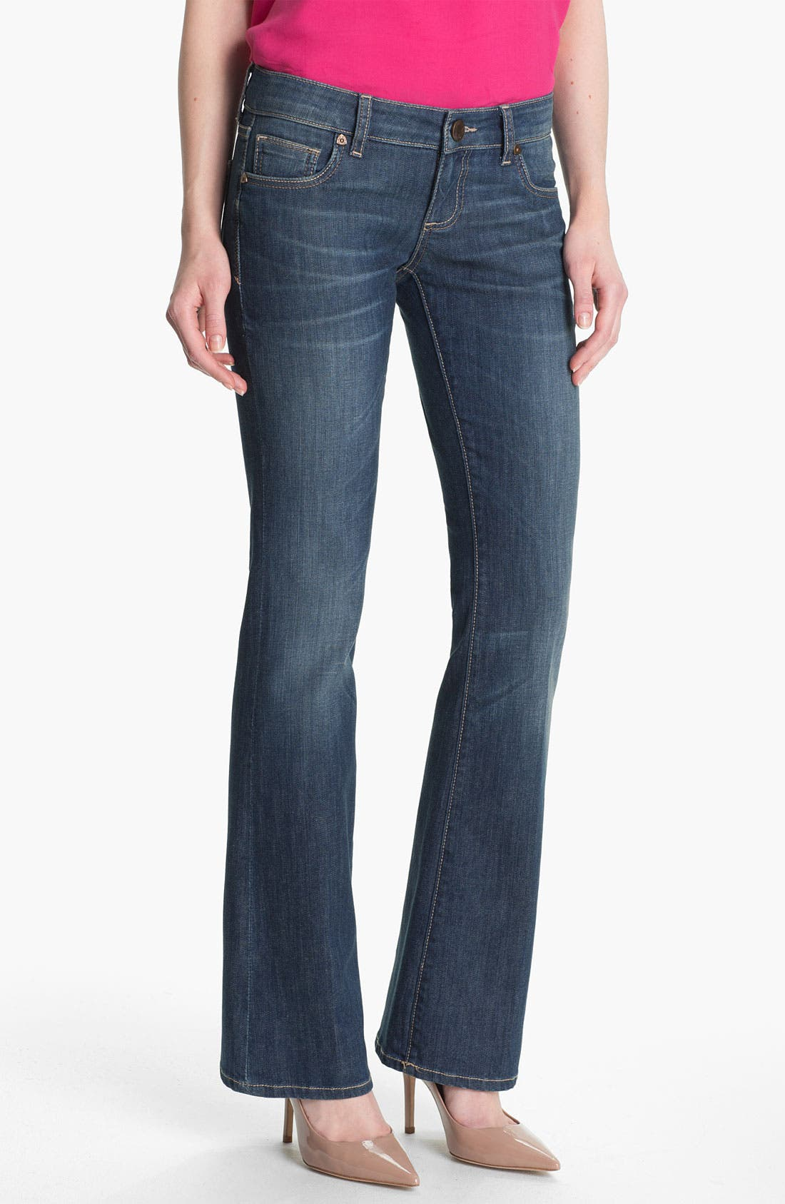Alternate Image 1 Selected - KUT from the Kloth Baby Bootcut Jeans (Exceptional)