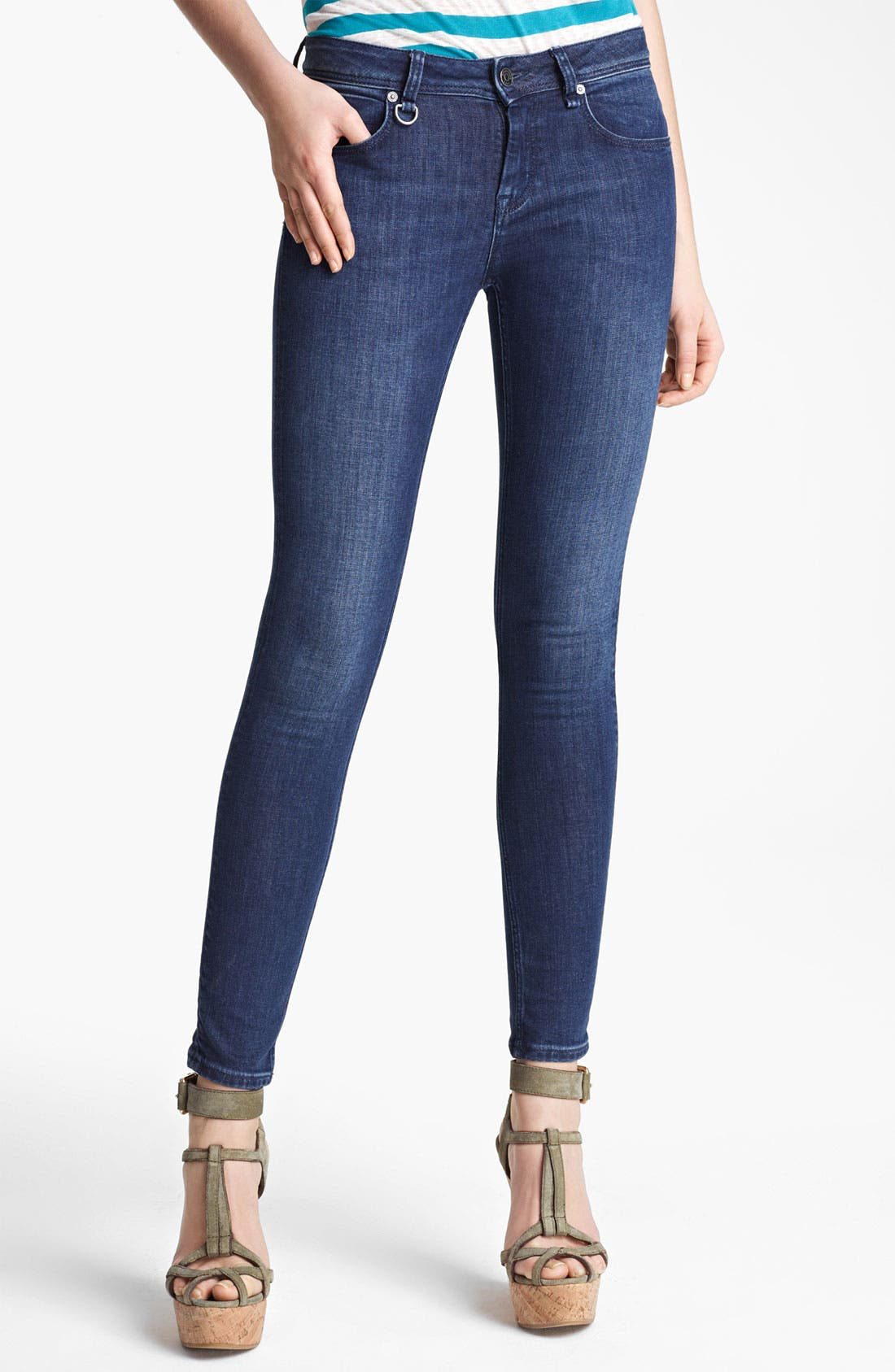 Main Image - Burberry Brit 'Westbourne' Skinny Jeans
