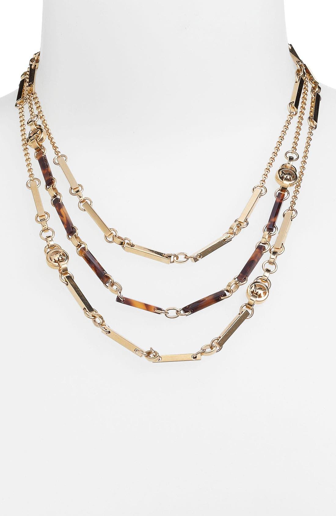 Alternate Image 4  - Michael Kors 'Jet Set' Convertible Necklace