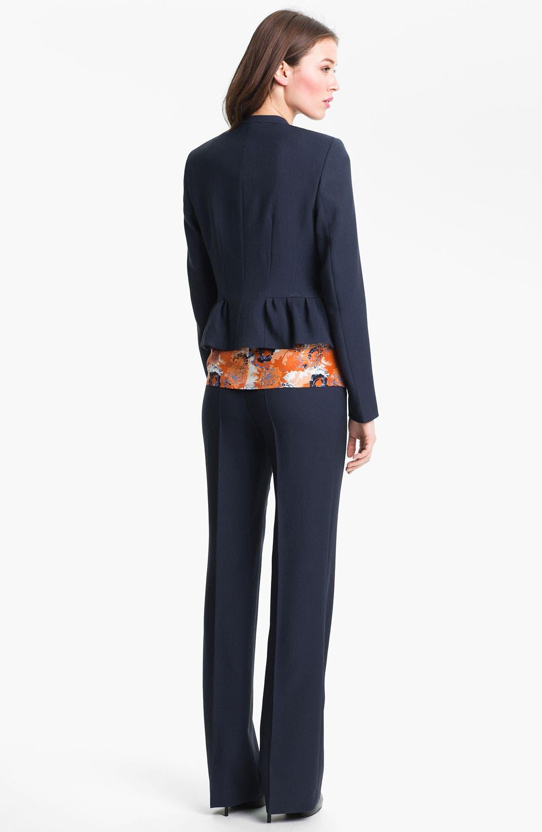 Alternate Image 5  - BOSS Black 'Tuliasa' Wool Pants