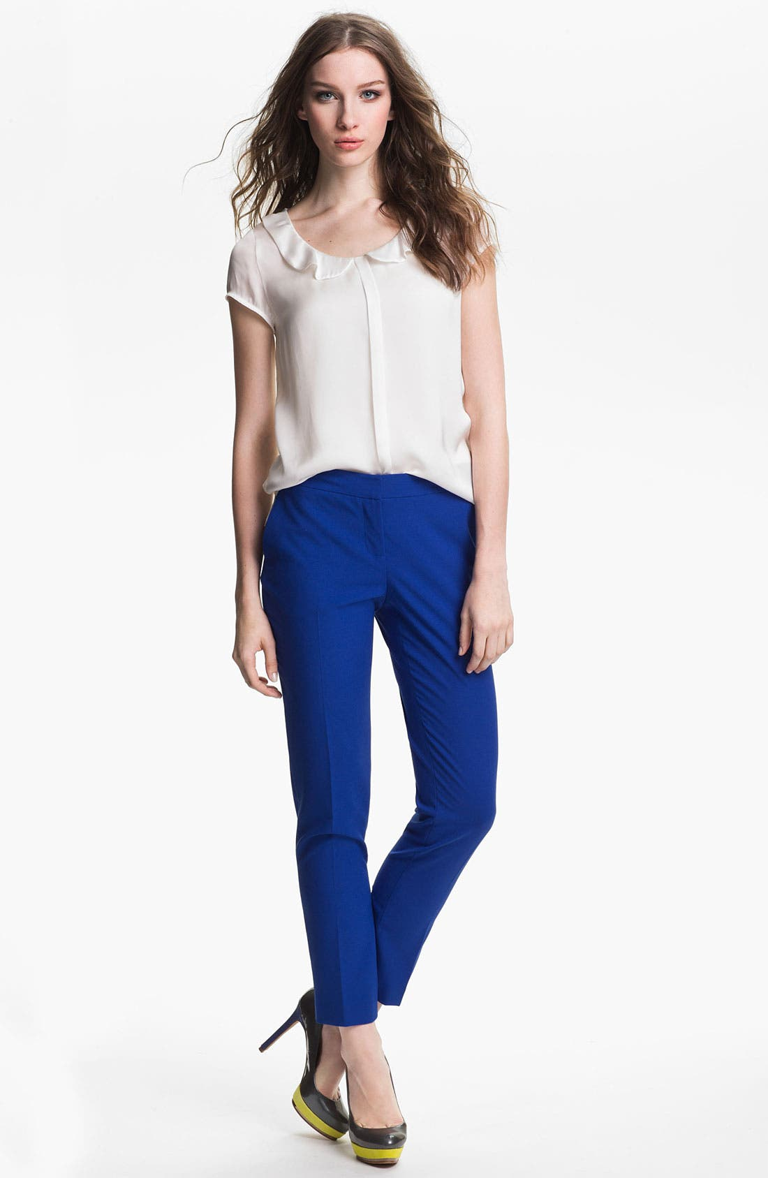 Alternate Image 4  - Vince Camuto Skinny Ankle Pants