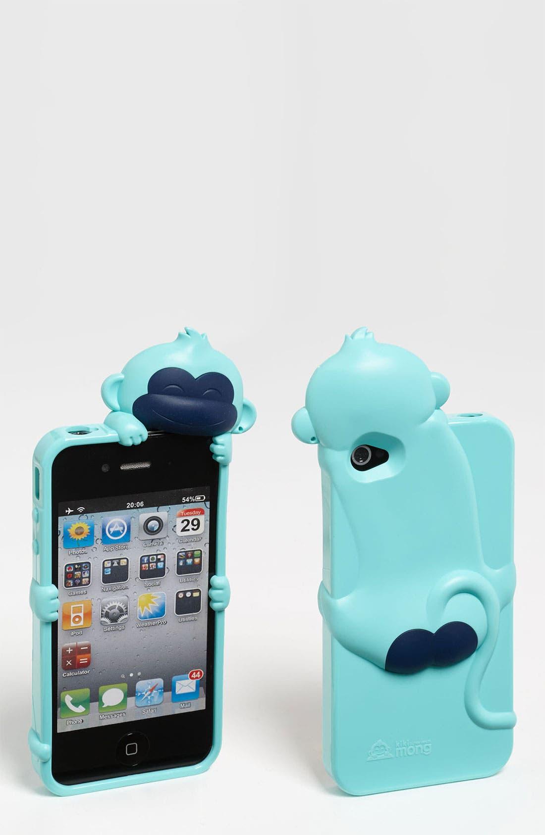 Main Image - Shine 32 'Kiki Monkey' iPhone 4 & 4S Case