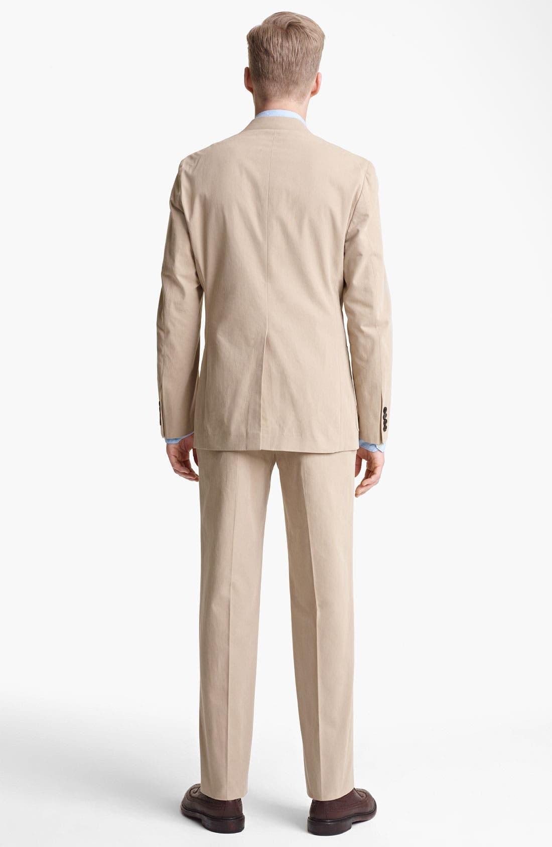 Alternate Image 3  - Billy Reid 'Campbell' Cotton Suit