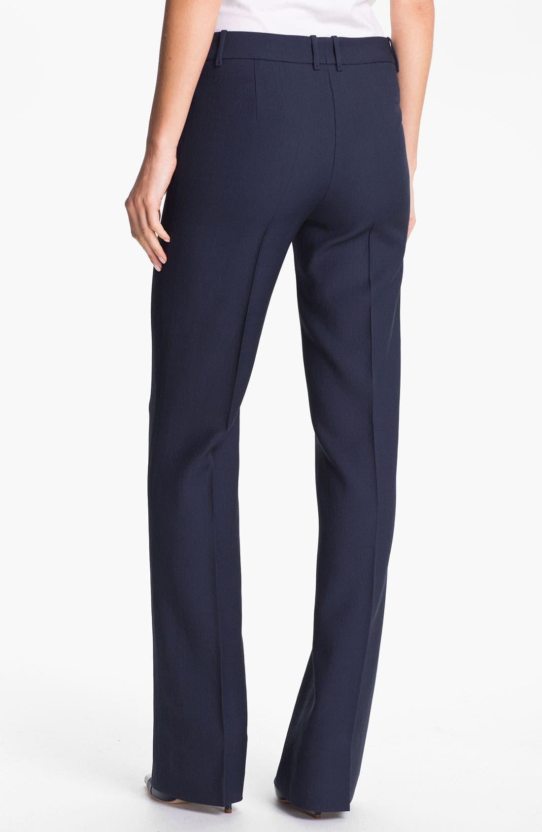 Alternate Image 2  - BOSS Black 'Tuliasa' Wool Pants