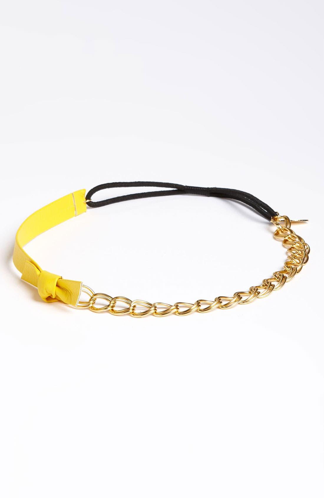 Main Image - Cara 'Bow & Chain' Head Wrap