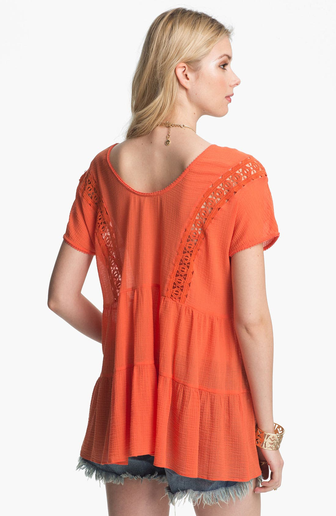 Alternate Image 2  - Free People 'Washed Ashore' Tiered Babydoll Tunic