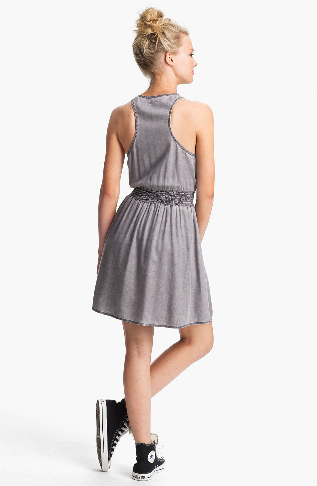 Alternate Image 2  - BP. Chambray Racerback Dress (Juniors)