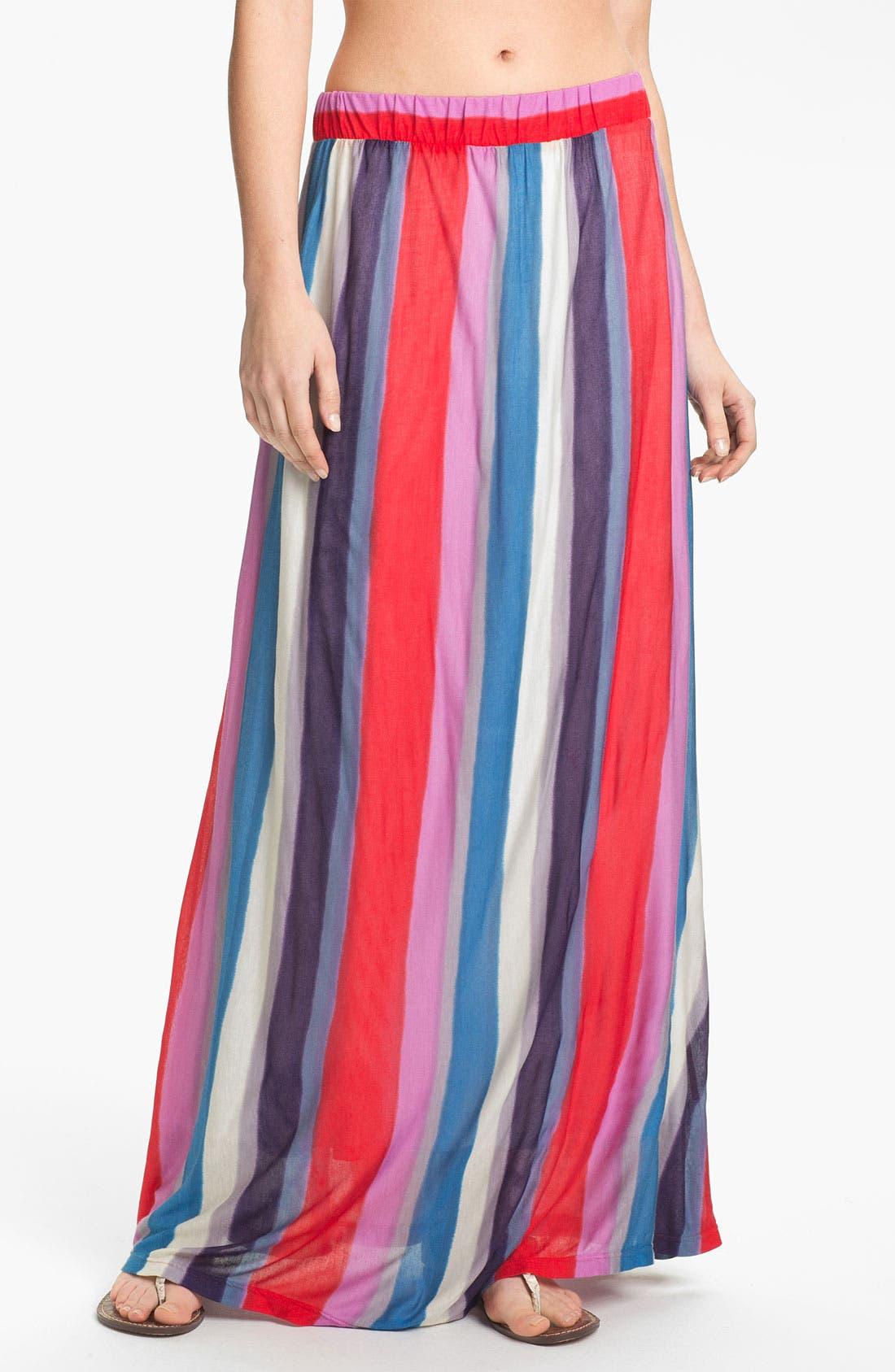 Alternate Image 1 Selected - Splendid Stripe Maxi Skirt