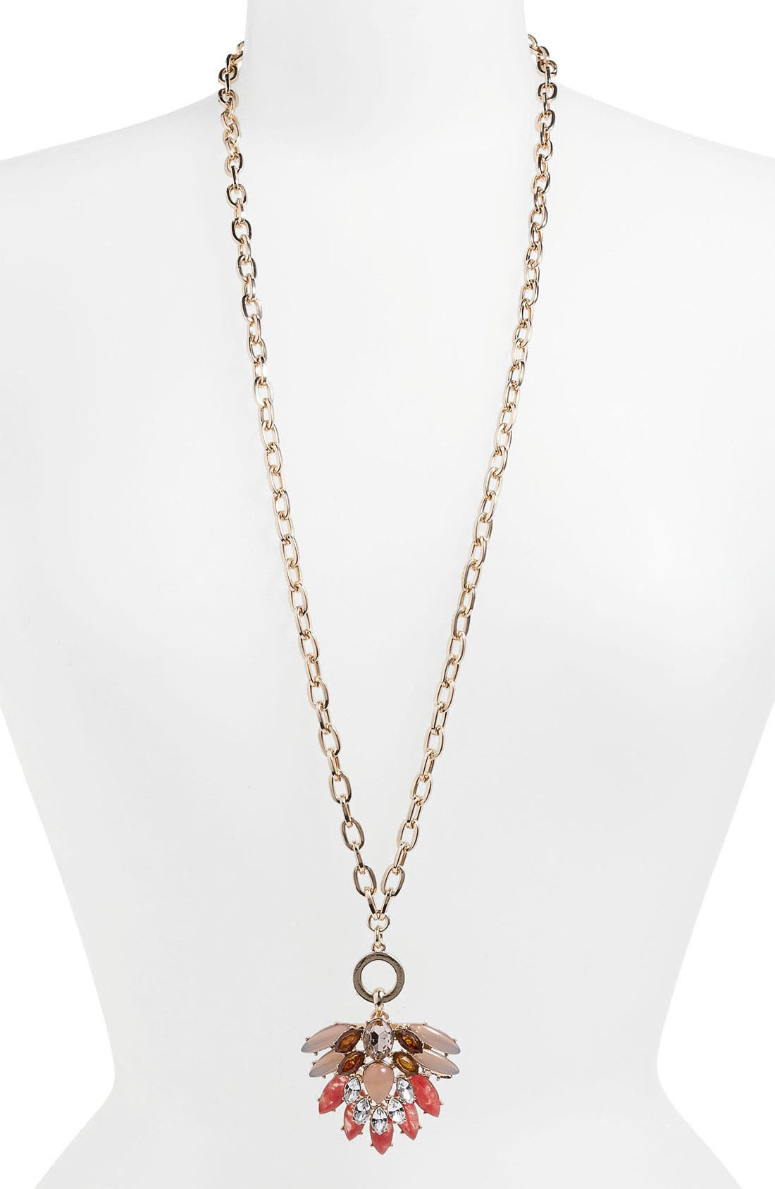 Alternate Image 3  - Anne Klein Convertible Pendant Necklace