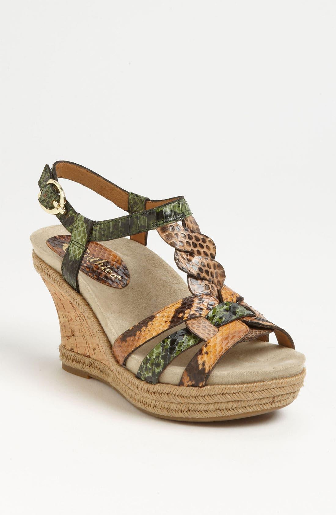 Alternate Image 1 Selected - Earthies® 'Corsica' Sandal