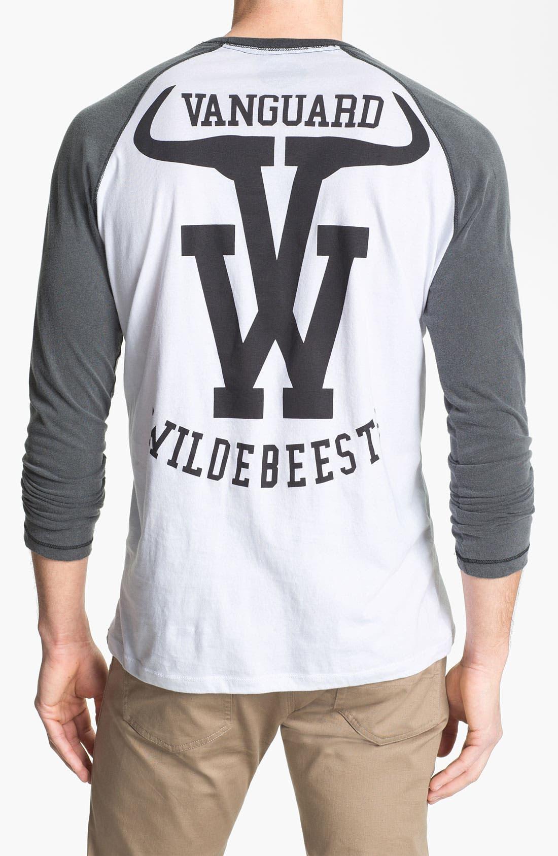 Alternate Image 2  - Vanguard 'Wildebeests' Graphic Baseball T-Shirt