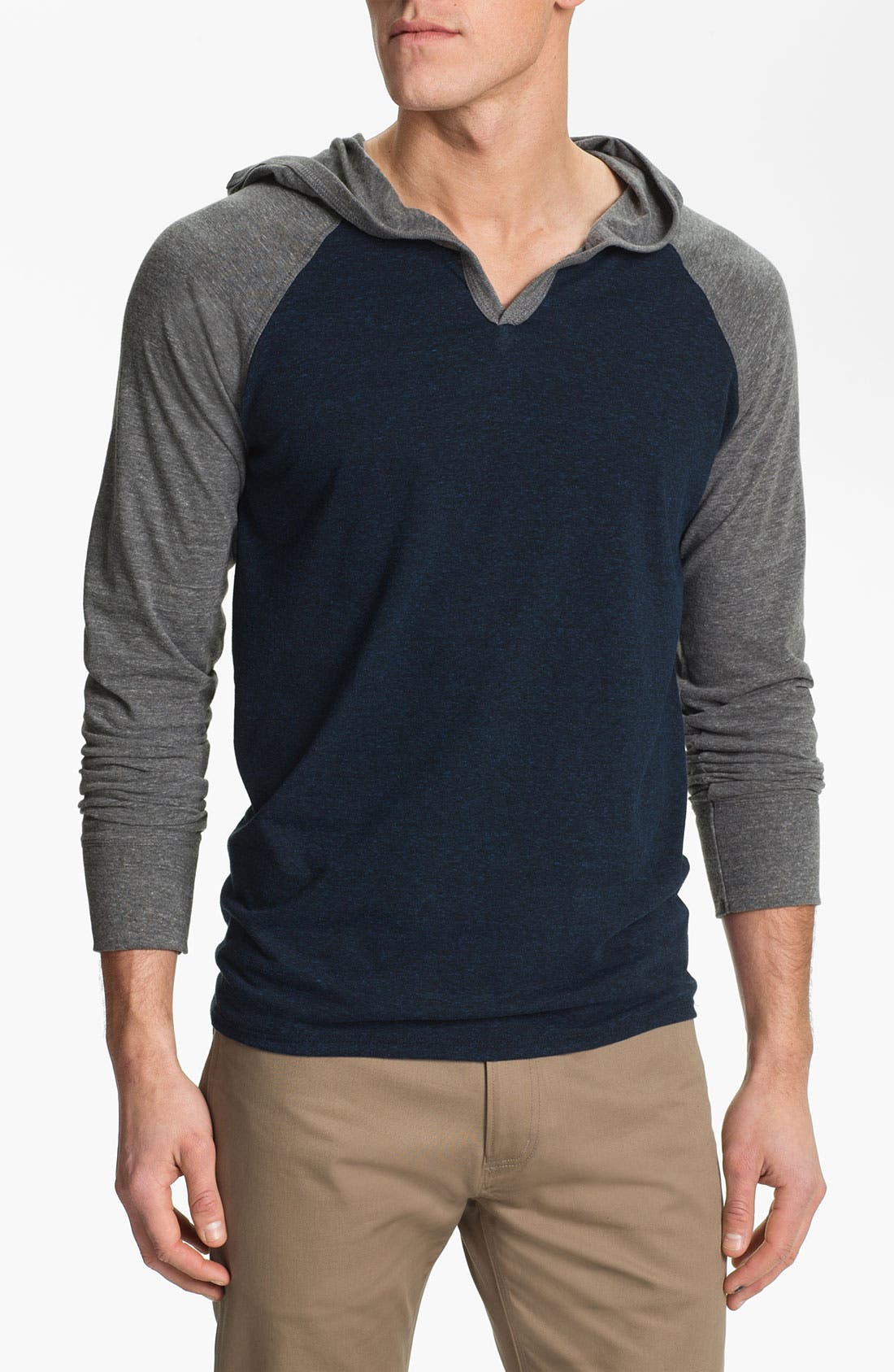 Main Image - Threads for Thought V-Neck Hoodie