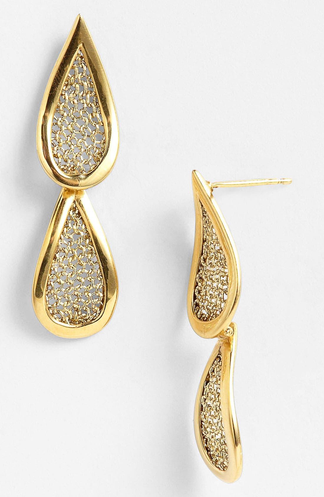 Main Image - Adami & Martucci 'Mesh' Drop Earrings (Nordstrom Exclusive)