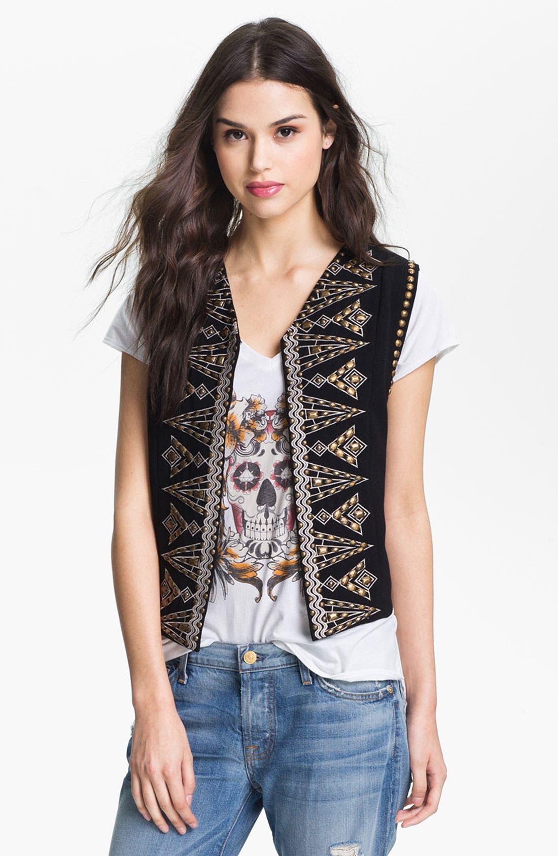 Main Image - Pure Sugar Embellished Vest
