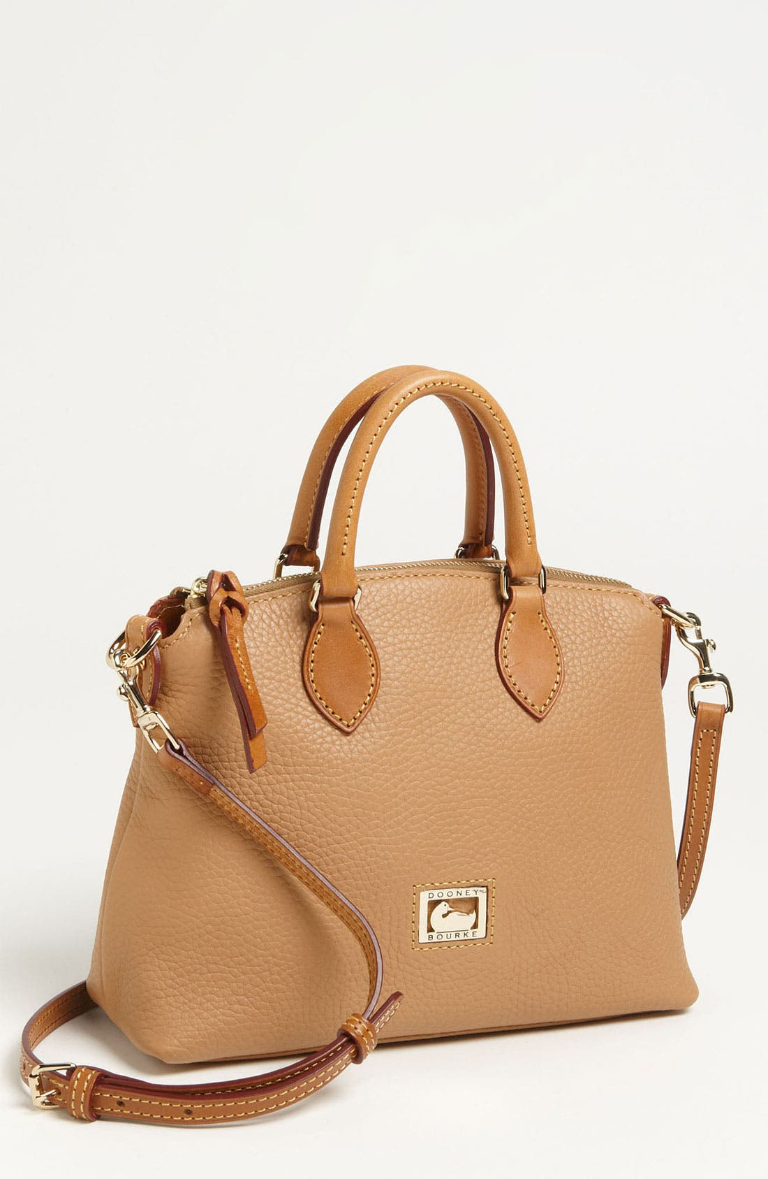 Alternate Image 1 Selected - Dooney & Bourke 'Dillen II Collection' Leather Crossbody Zip Satchel