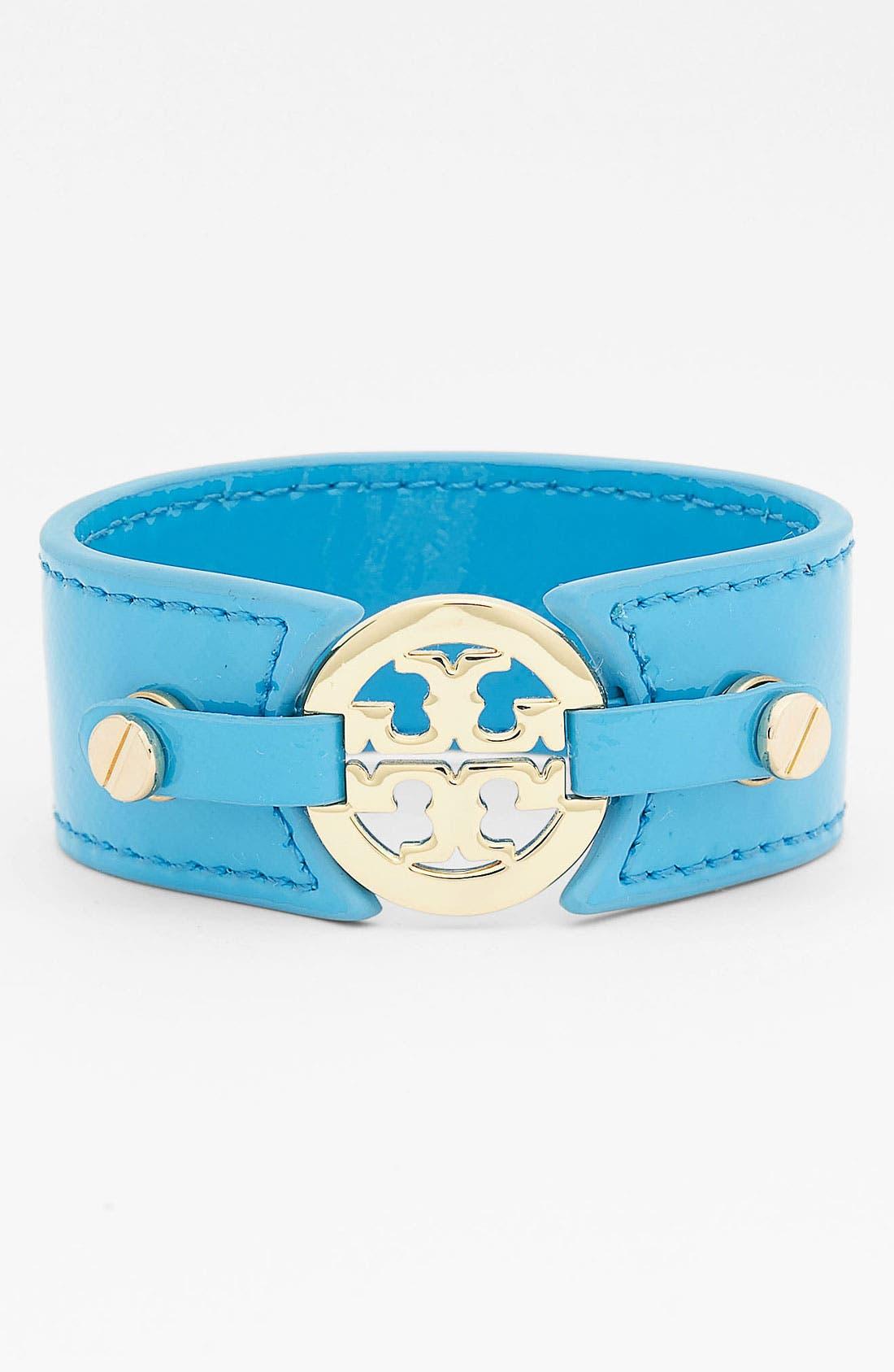 Main Image - Tory Burch Patent Leather Bracelet