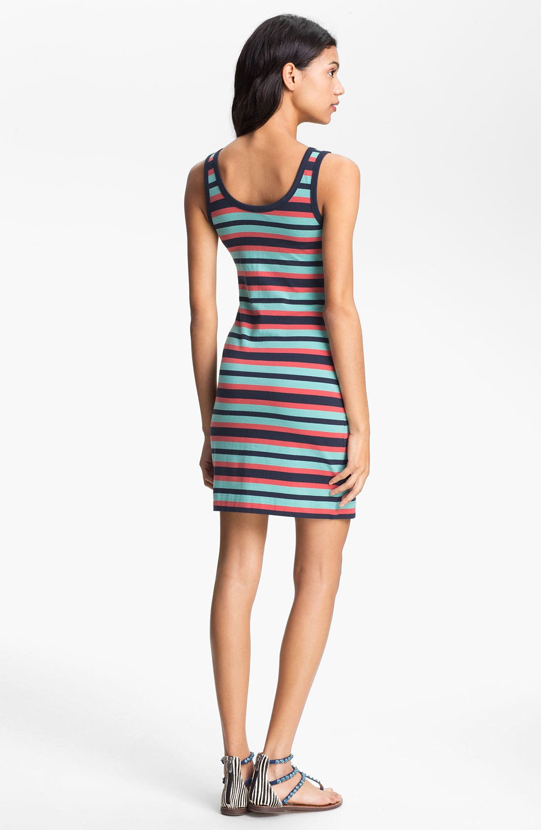 Alternate Image 2  - French Connection Stripe Tank Dress