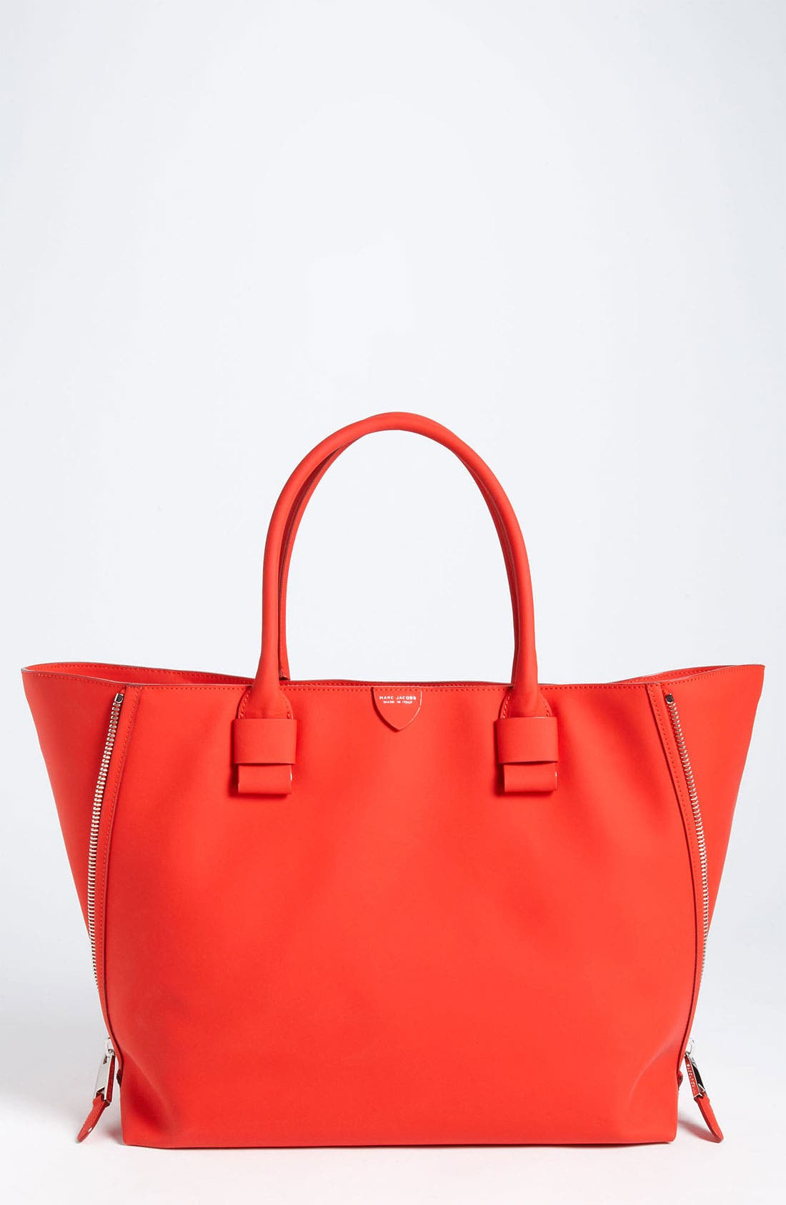 Alternate Image 1 Selected - MARC JACOBS 'Sheila' Rubberized Leather Tote