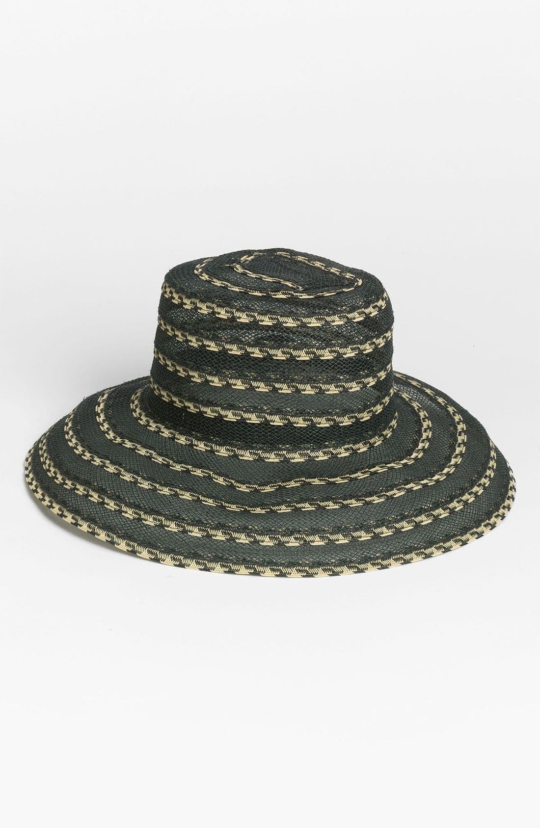 Alternate Image 1 Selected - Nordstrom Medium Brim Sheer Hat