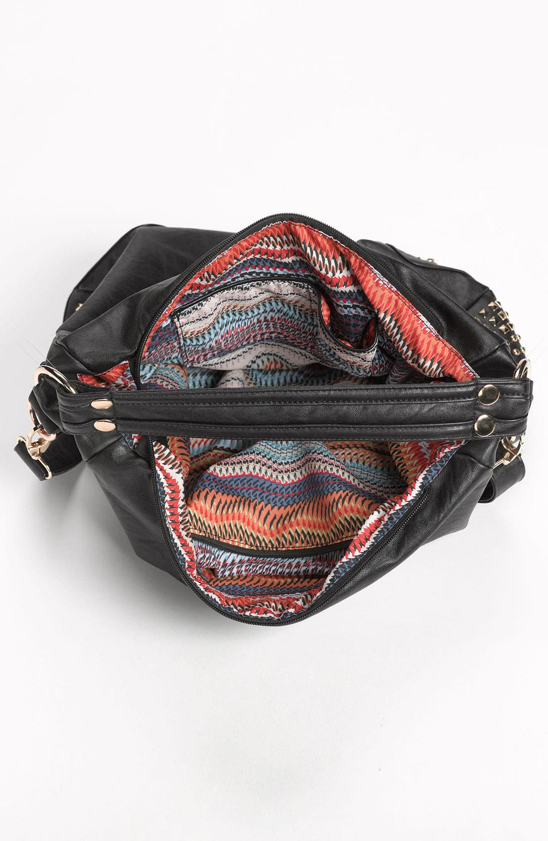 Alternate Image 3  - Top Choice Studded Convertible Hobo Bag