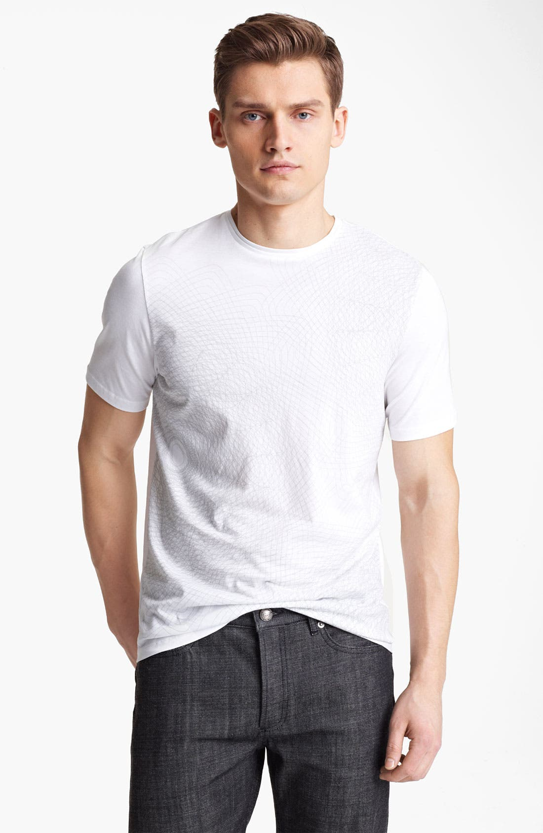 Main Image - Z Zegna Print Graphic T-Shirt
