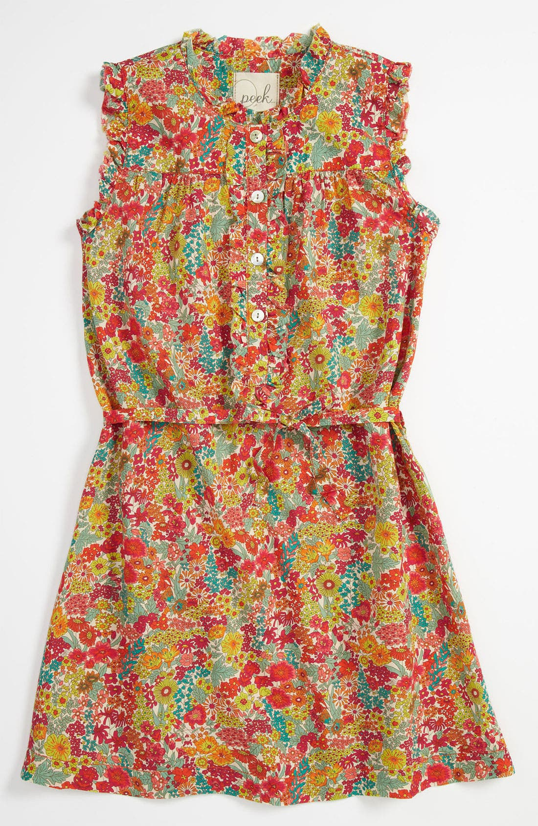 Alternate Image 1 Selected - Peek 'Liberty Print Kinsey' Tunic (Toddler, Little Girls & Big Girls)