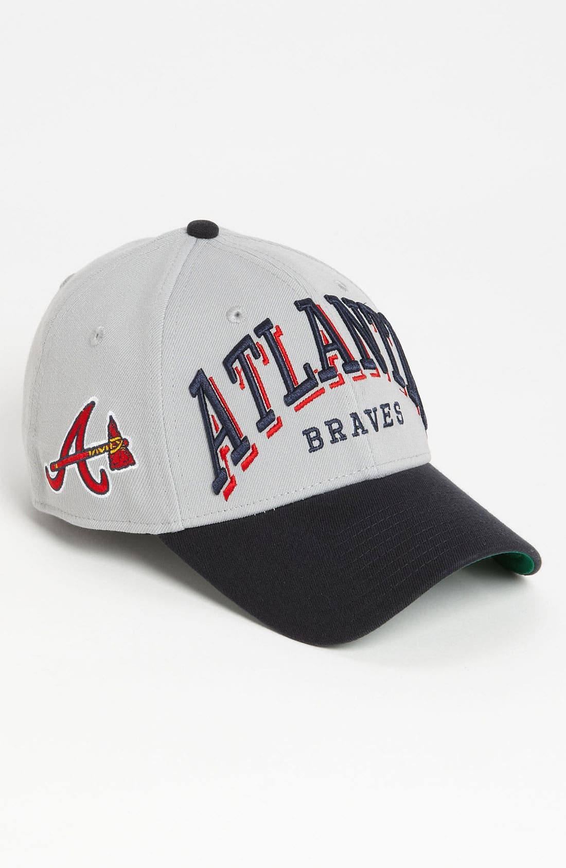 Alternate Image 2  - New Era Cap 'Atlanta Braves - Arch Mark' Fitted Baseball Cap
