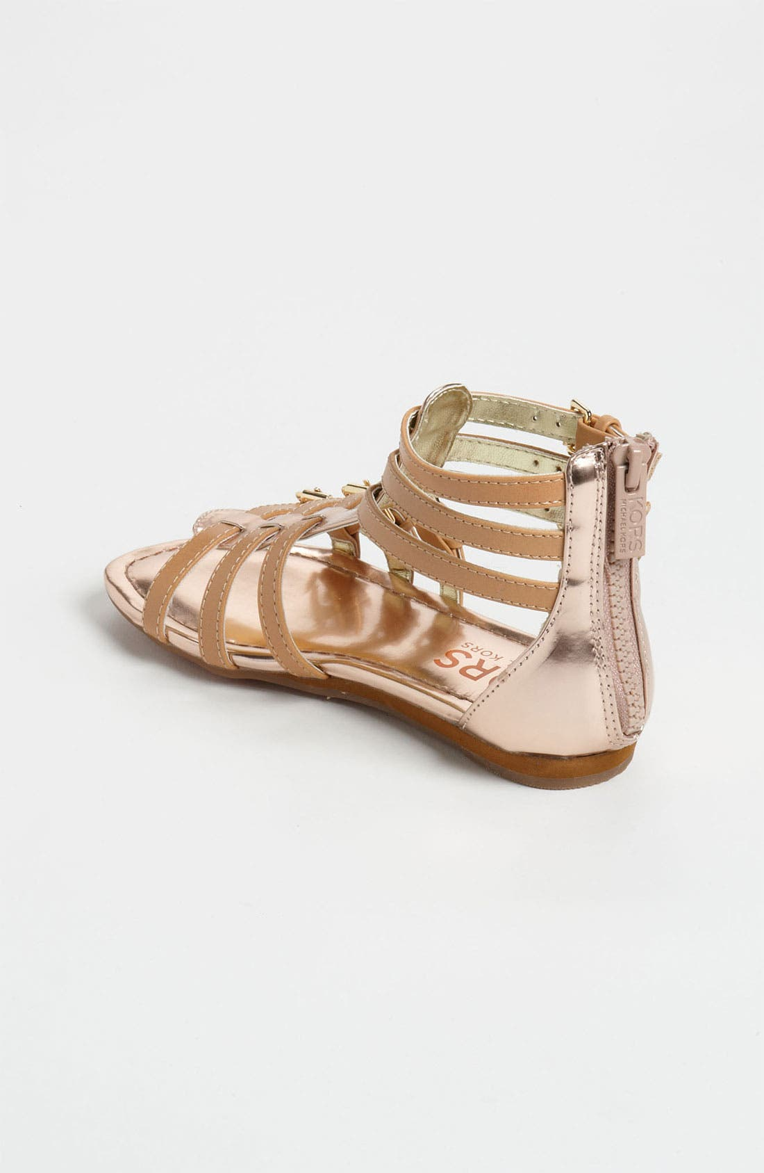 Alternate Image 2  - KORS Michael Kors 'Grenadine' Gladiator Sandal (Toddler, Little Kid & Big Kid)