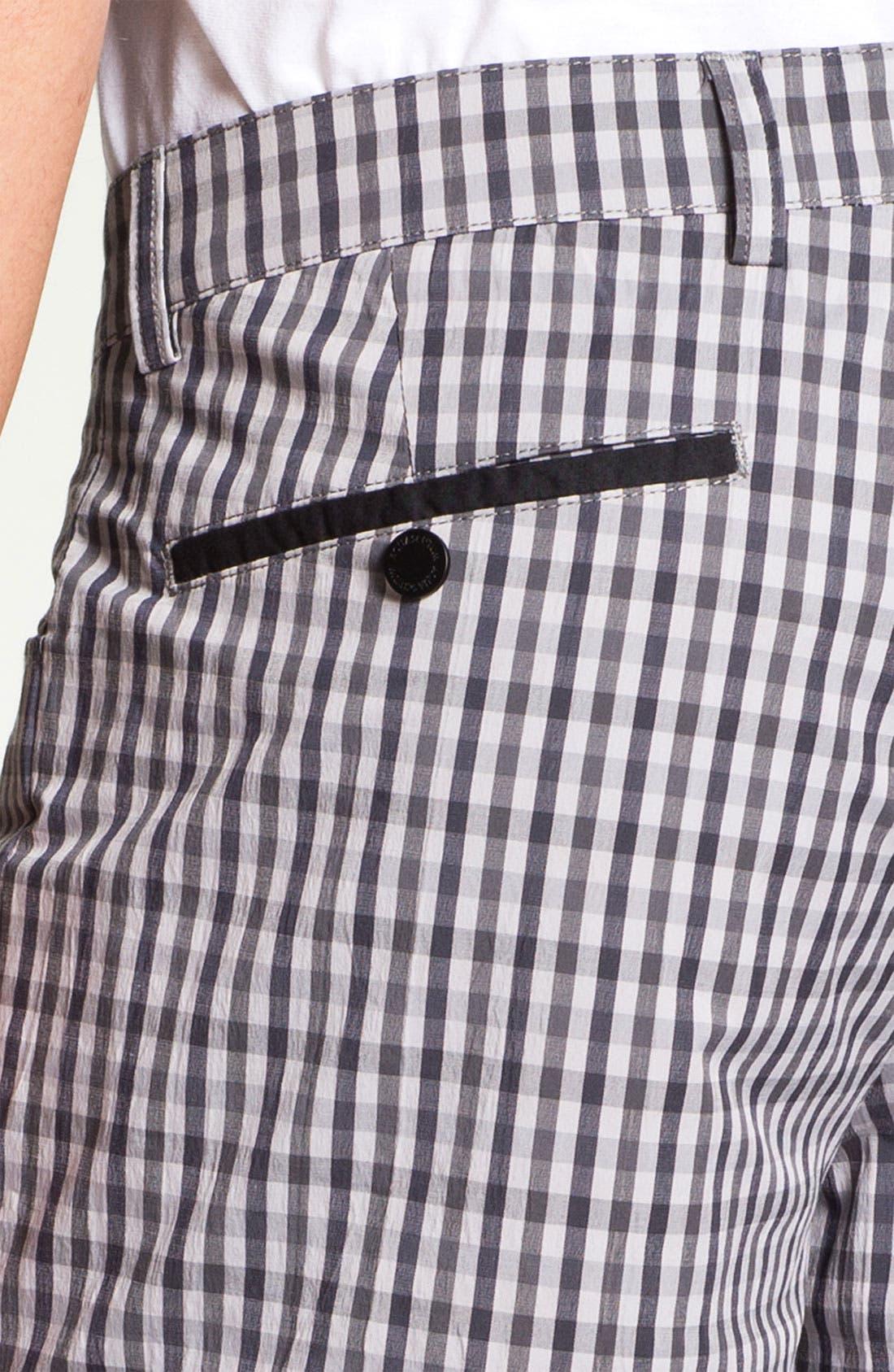 Alternate Image 3  - Aquascutum Golf 'Sport Check' Golf Shorts