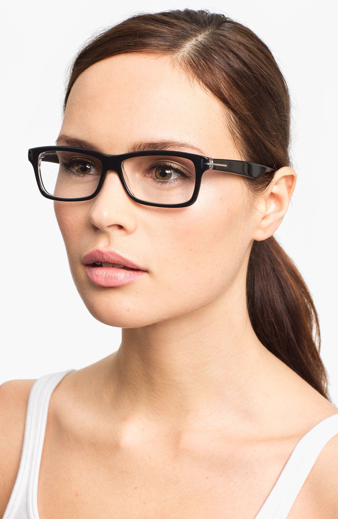 Alternate Image 2  - Tom Ford Fashion 54mm Optical Glasses (Online Only)