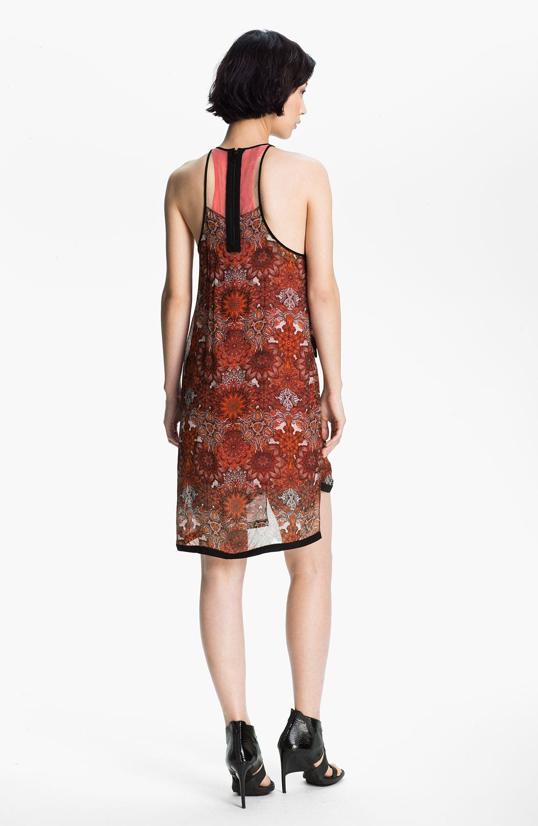 Alternate Image 2  - Helmut Lang 'Mandala' Print Layered Dress