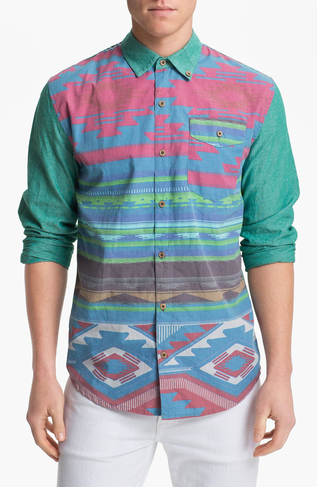 Main Image - Insight Print Woven Shirt