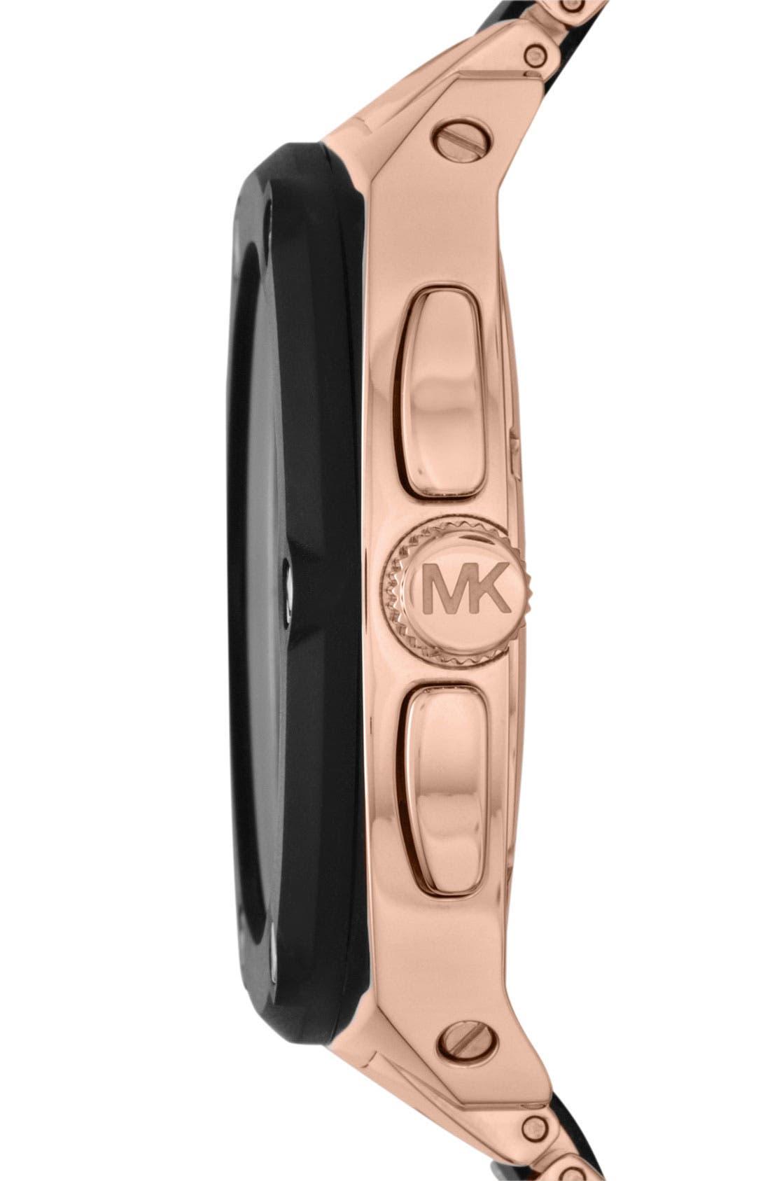 Alternate Image 2  - Michael Kors 'Tribeca' Chronograph Bracelet Watch, 43mm