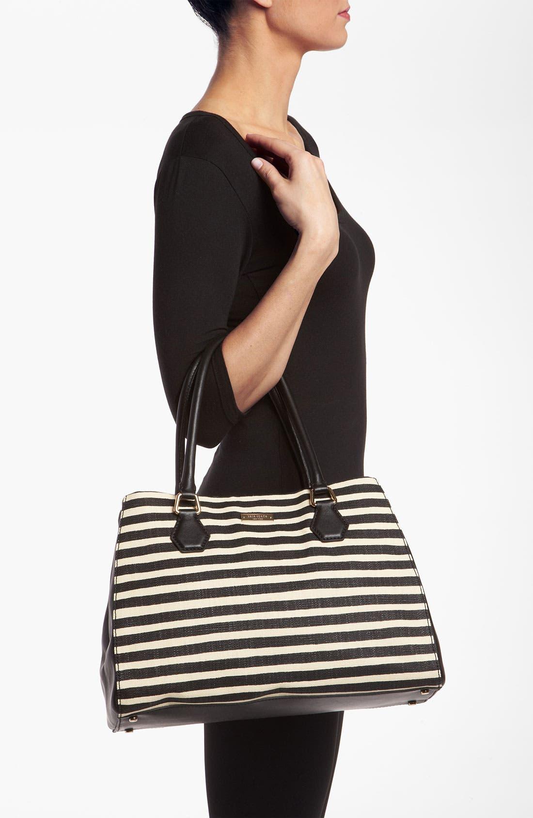 Alternate Image 2  - kate spade new york 'catherine street - stripe louise' shoulder bag