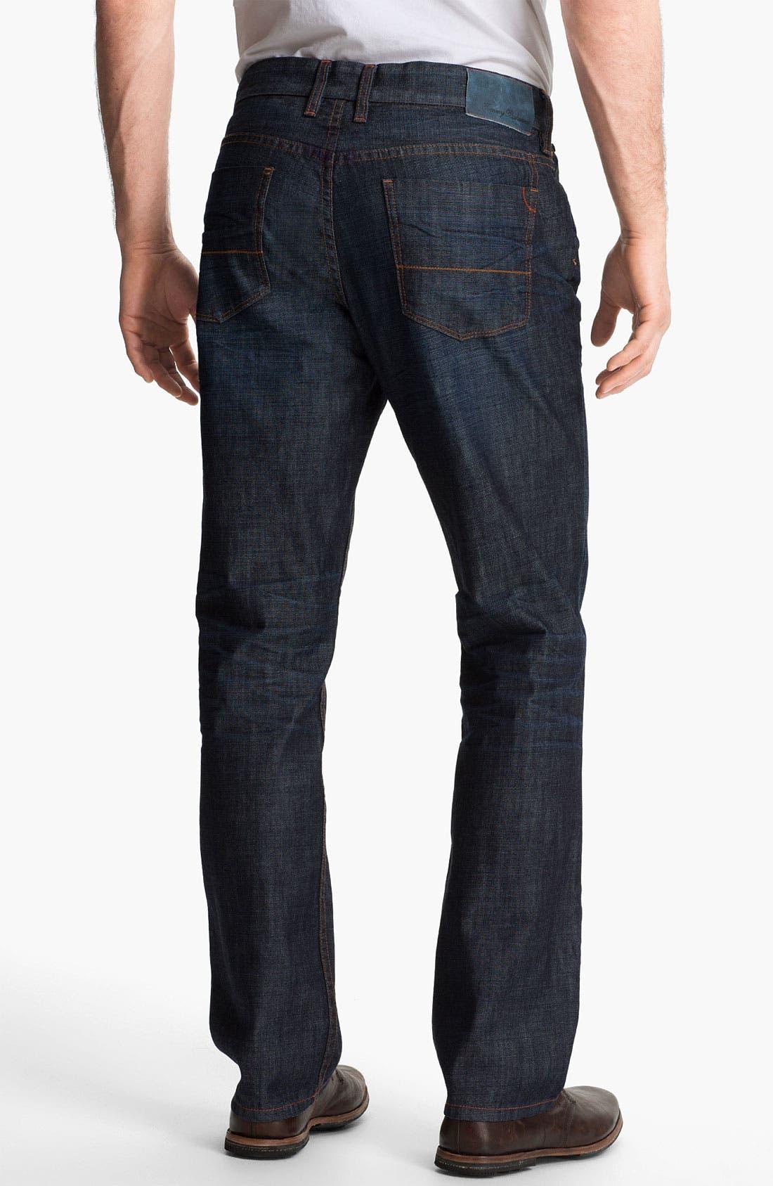 Alternate Image 2  - Tommy Bahama Denim 'Cruz' Authentic Fit Jeans (Vintage Dark)