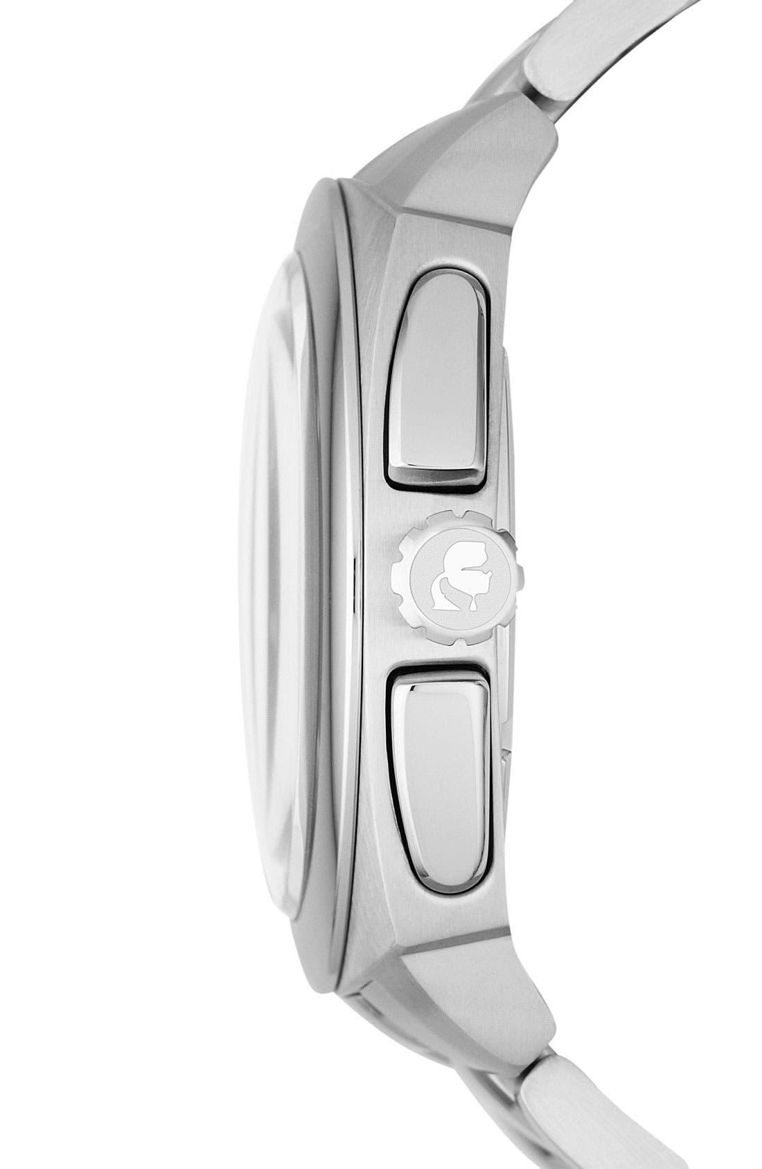 Alternate Image 2  - KARL LAGERFELD 'Keeper' Chronograph Bracelet Watch, 46mm