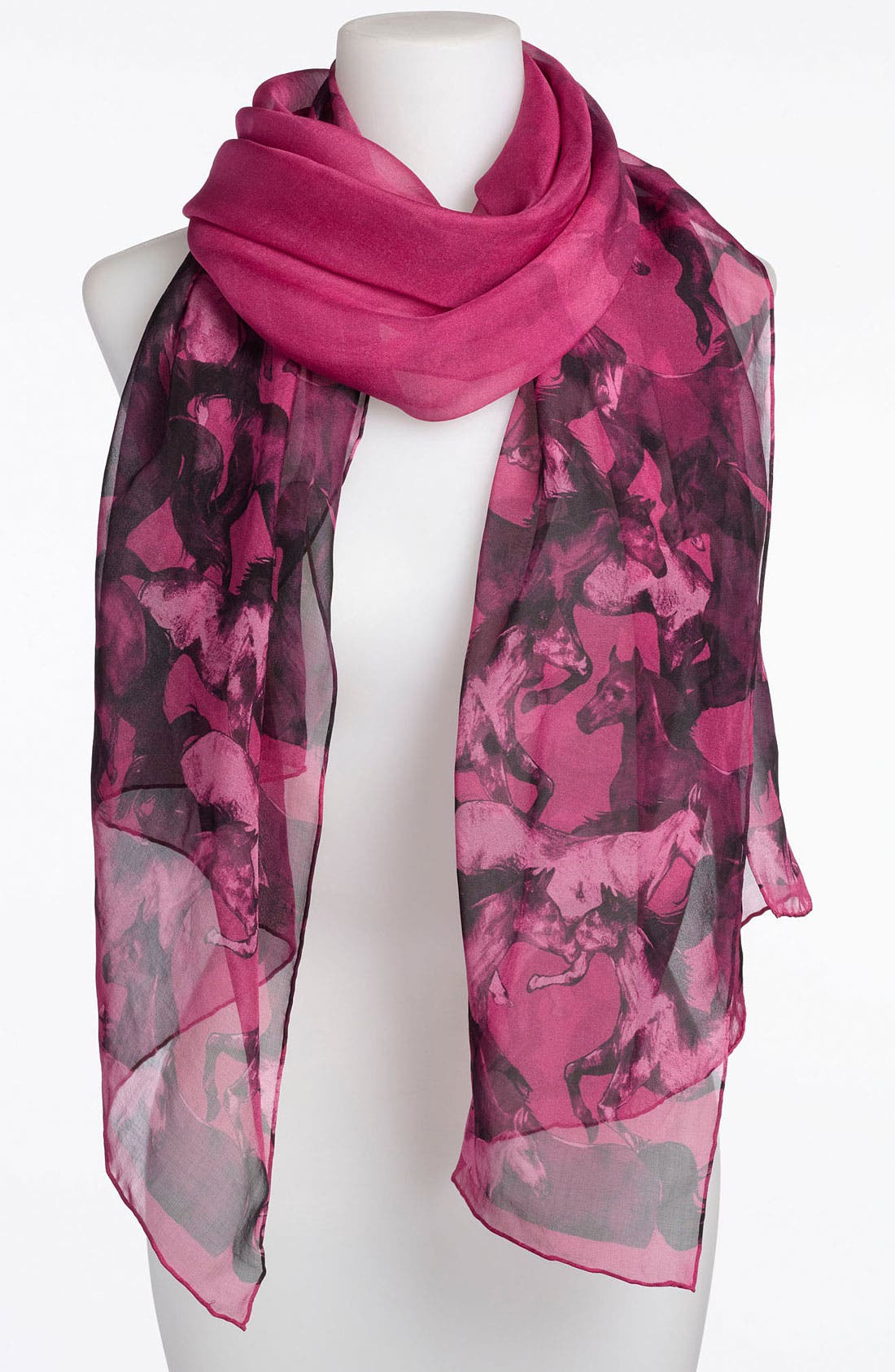 Main Image - Ted Baker London 'Wild Horses' Silk Scarf