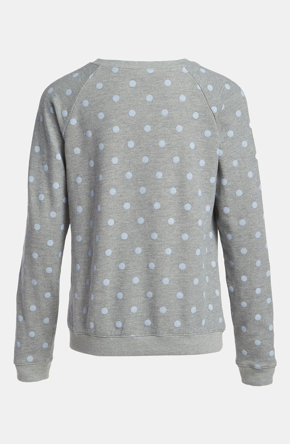 Alternate Image 2  - Mural Polka Dot Sweatshirt