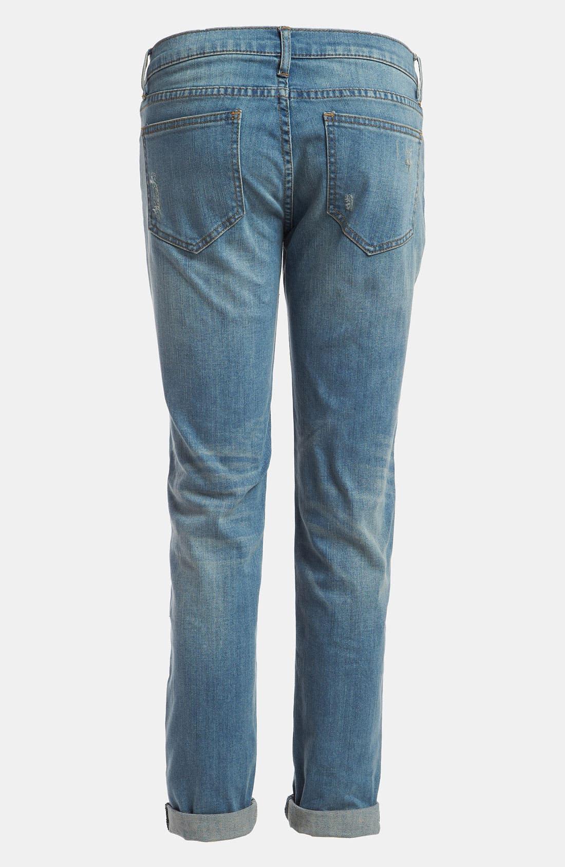 Alternate Image 2  - edyson 'Soho' Relaxed Boyfriend Jeans
