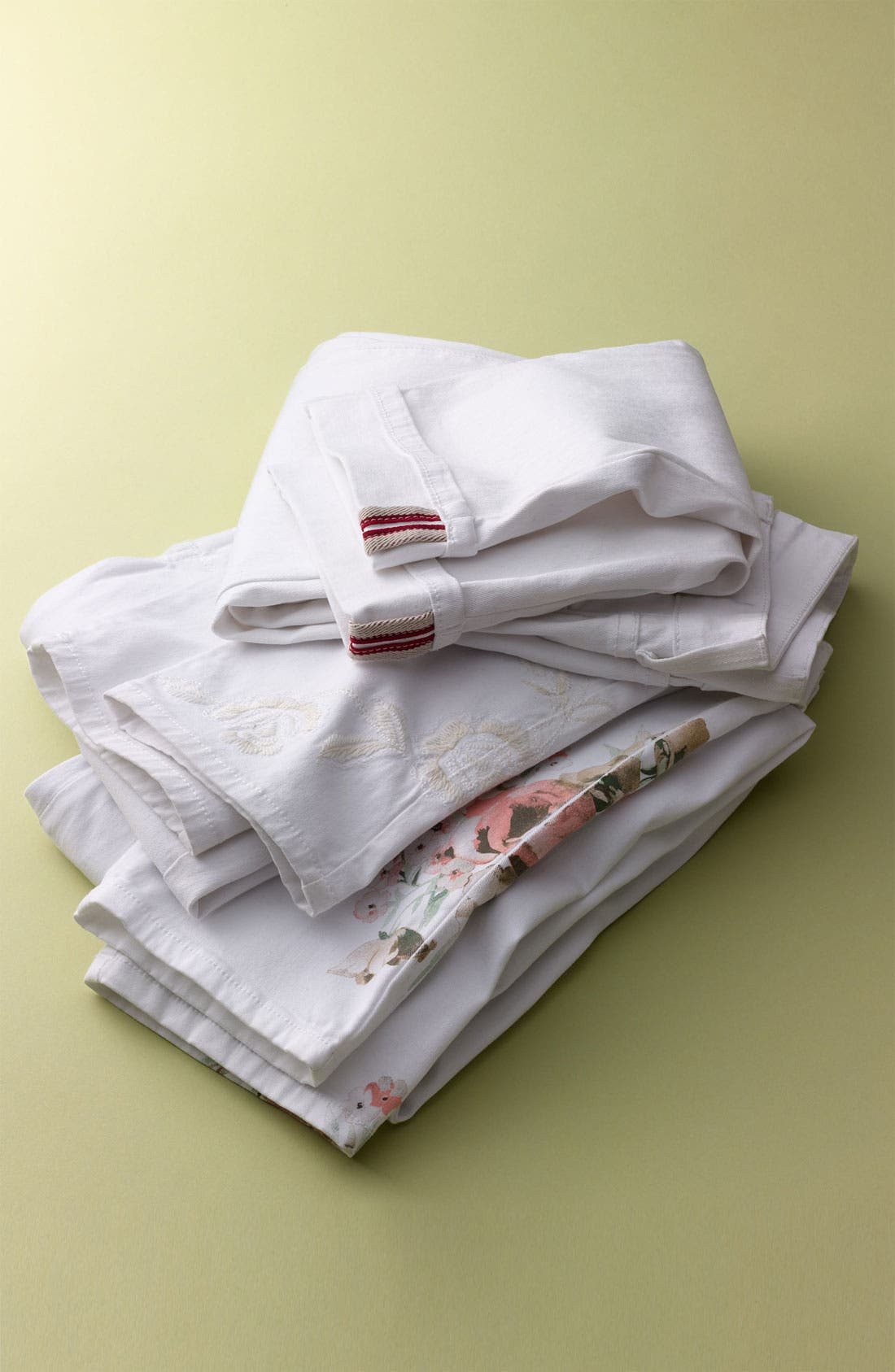 Alternate Image 4  - NYDJ 'Alisha - Placed Print' Skinny Stretch Ankle Jeans