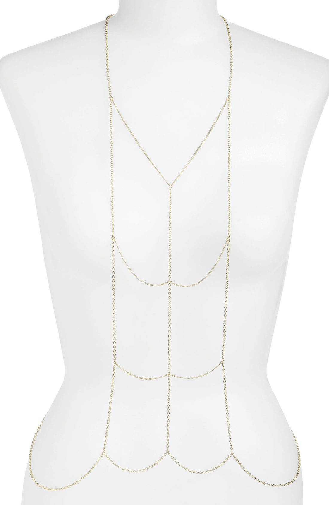 Alternate Image 1 Selected - Stephan & Co. Body Chain