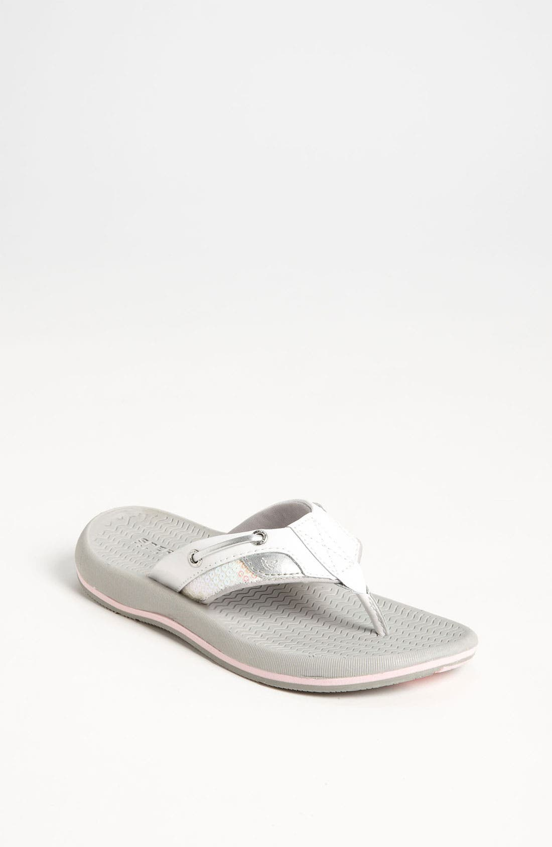 Alternate Image 1 Selected - Sperry Top-Sider® 'Bluefish' Thong Sandal (Toddler, Little Kid & Big Kid)