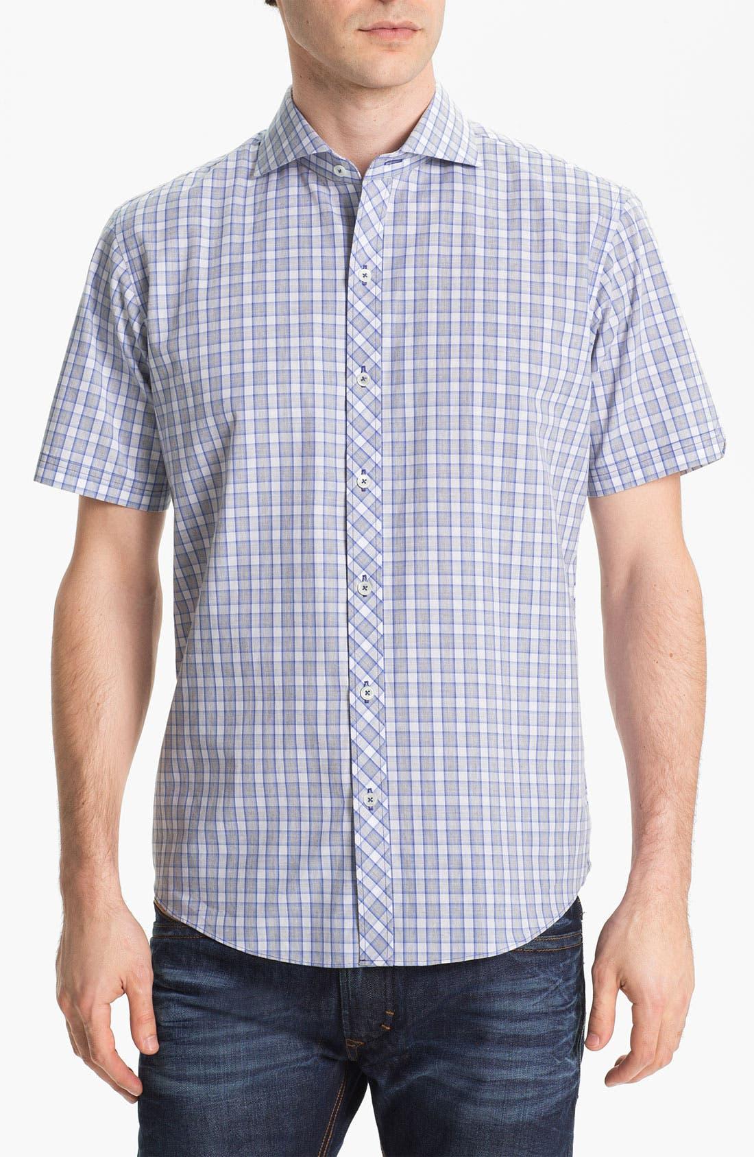 Main Image - Zachary Prell 'Vela' Short Sleeve Sport Shirt