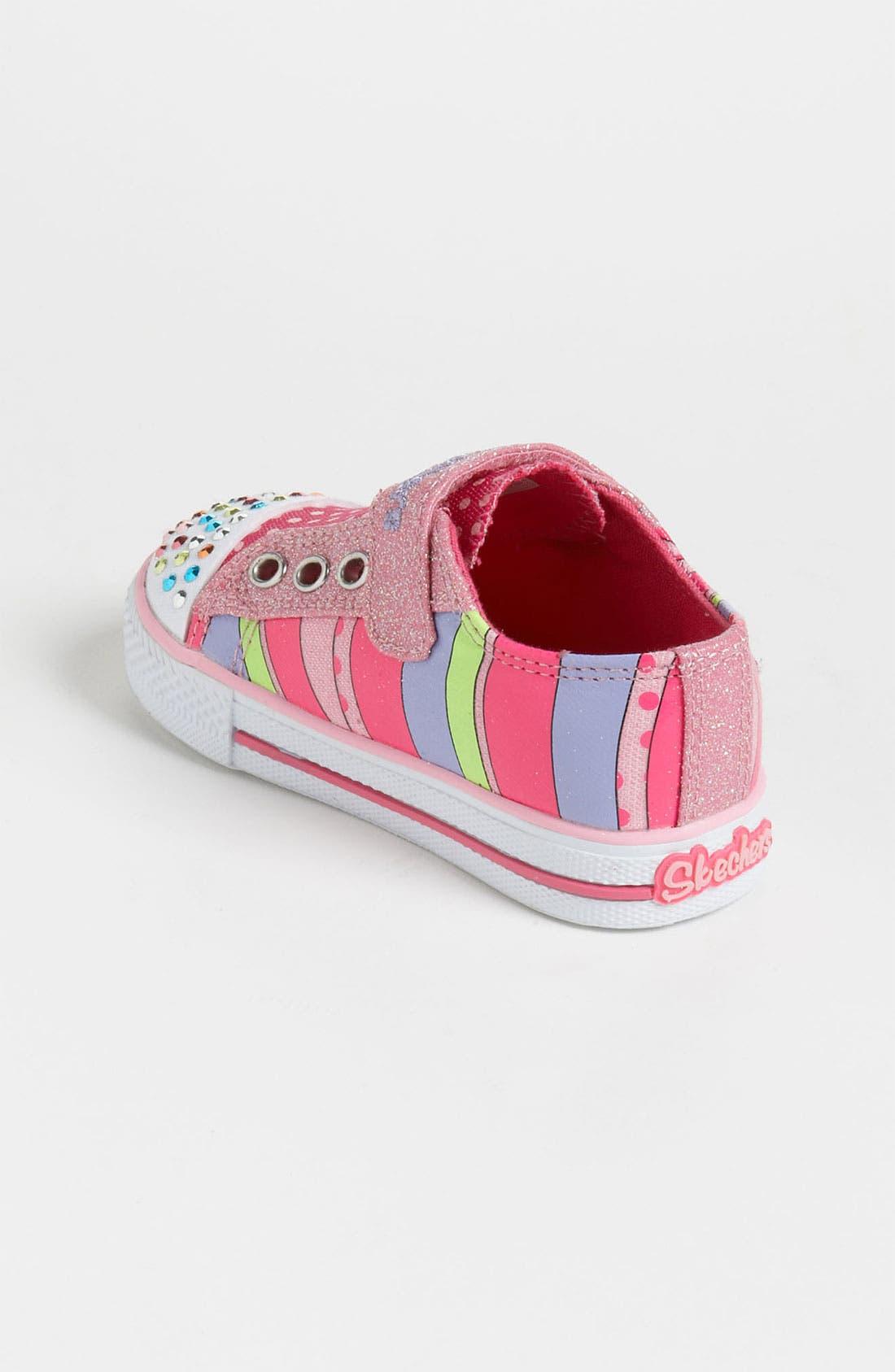Alternate Image 2  - SKECHERS 'Twinkle Toes - Shuffles' Sneaker (Walker & Toddler)